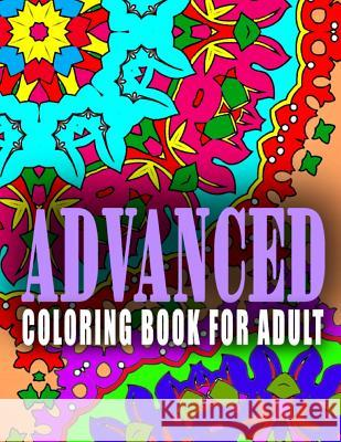 Advanced Coloring Book for Adult - Vol.8: Advanced Coloring Books Advanced Coloring Books                  C. J. Art-Lab 9781517660888