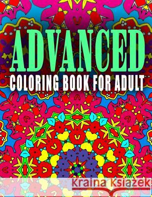 Advanced Coloring Book for Adult - Vol.9: Advanced Coloring Books Advanced Coloring Books                  C. J. Art-Lab 9781517661069