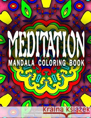 Meditation Mandala Coloring Book - Vol.3: Women Coloring Books for Adults Women Coloring Books for Adults          Relaxation Coloring Books for Adults 9781519510181