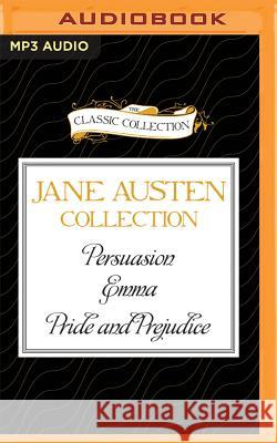 Jane Austen - Collection: Persuasion, Emma, Pride and Prejudice - audiobook Jane Austen Michael Page Sharon Williams 9781522612131