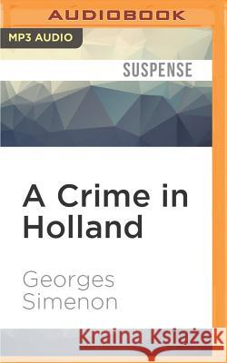 A Crime in Holland - audiobook Georges Simenon Sian Reynolds Gareth Armstrong 9781522634539