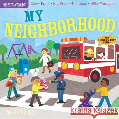 Indestructibles: My Neighborhood Maddie Frost Amy Pixton 9781523504695