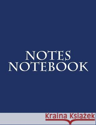 Notes Notebook Inc Notabl 9781523934614 Createspace Independent Publishing Platform