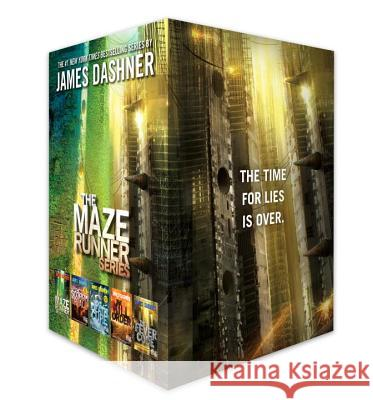 The Maze Runner Series Complete Collection Boxed Set (5-Book) James Dashner 9781524714345