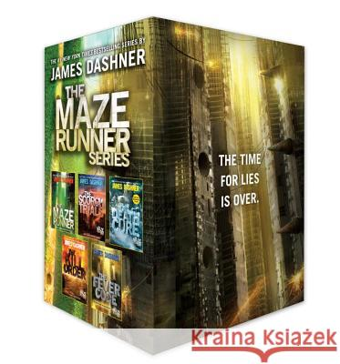 The Maze Runner Series Complete Collection Boxed Set (5-Book) James Dashner 9781524771034