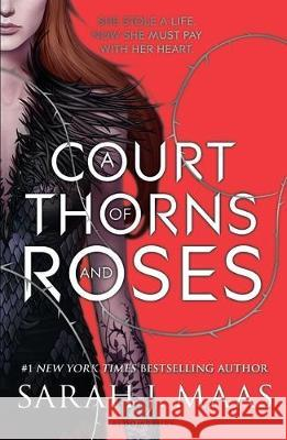 A Court of Thorns and Roses Sarah J. Maas   9781526605399