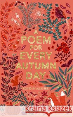 A Poem for Every Autumn Day Allie Esiri 9781529045222 Pan Macmillan