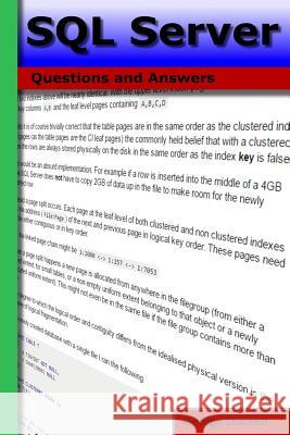 SQL Server: Questions and Answers George a. Duckett 9781532773563