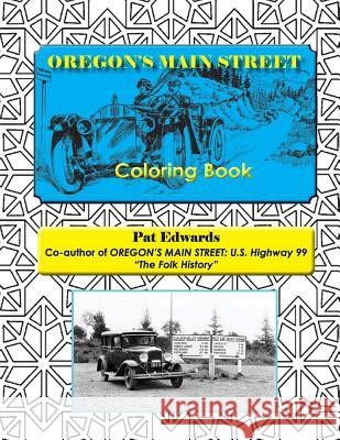 Oregon's Main Street Coloring Book Pat Edwards Jo Brew 9781534773974