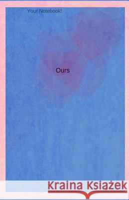 Your Notebook! Ours: A Journal for a Couple or Family, in Pink and Blue Mary Hirose 9781535070447