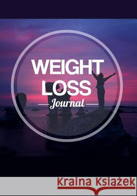 Weight Loss Journal: Keep Fit & Track Your Food with This Blank Handy Training Notebook Blank Books Journals 9781535496407
