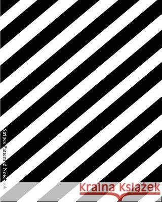 Stripes Patterned Notebook: Miko Isao No Line Note and Sketch Book Miko Isao 9781536957150