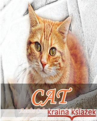 Cat: Adults Coloring Book Vol.5: An Adult Coloring Book of Cats in a Variety of Styles Mimic Mock 9781537090573