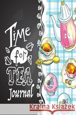 Time for Tea Journal Sandy Mahony Mary Lou Brown 9781539639312