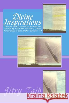 Divine Inspirations Jitry Zaib Proverbial Butterfly Publishing 9781541226180