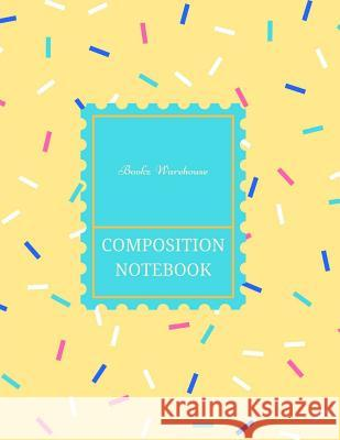 Composition Notebook Bookz Warehouse 9781541396951