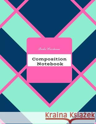 Composition Notebook Bookz Warehouse 9781542306256