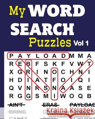 My Word Search Puzzles Rays Publishers 9781542737173