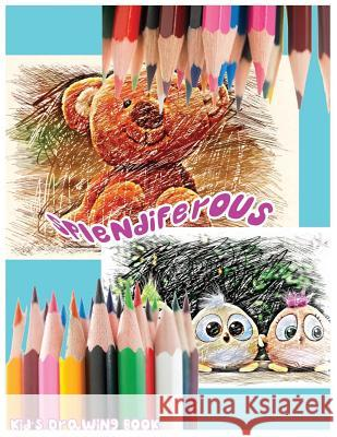 Splendiferous: Kid's Drawing Book: Large 8.5 X 11 Blank, White, Unlined,60 Pages Freely to Write, Sketch, Draw and Paint ( Splendid B B. J. Brendans 9781542776417