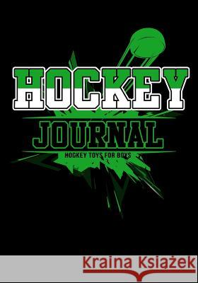 Hockey Journal: Hockey Notebook & Personal STATS Tracker 100 Games My Hocke Blank Boo 9781544032726