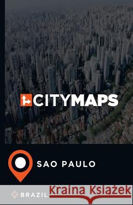 City Maps Sao Paulo Brazil James McFee 9781544897738