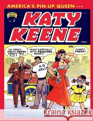 Katy Keene # 2 Archie Comic Publications Israel Escamilla Bill Woggon 9781545403280