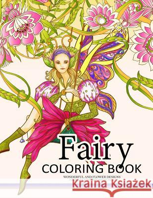 fairy coloring book for adults fairy in the magical world with her animal adult coloring book - Fairy Coloring Books For Adults