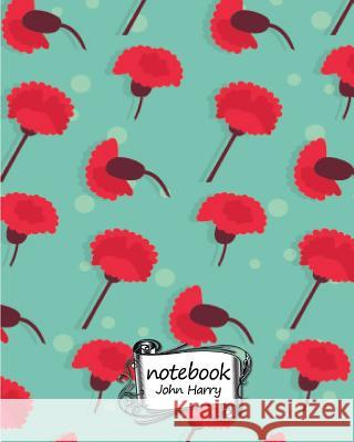 Notebook Journal Dot-Grid, Graph, Lined, Blank No Lined: Notebook Flower Pattern No.1: Pocket Notebook Journal Diary, 120 Pages, 8