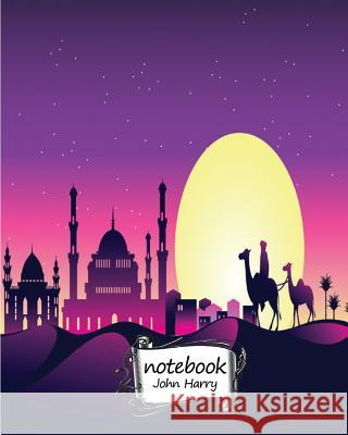Notebook Journal Dot-Grid, Graph, Lined, Blank No Lined: The Desert and Camel: Pocket Notebook Journal Diary, 120 Pages, 8