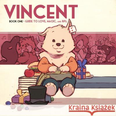 Vincent Book One: Guide to Love, Magic, and RPG Vitor Cafaggi 9781545805343