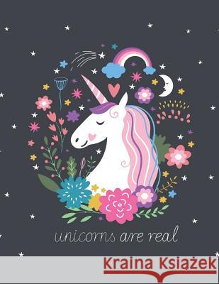 Unicorns Are Real (Journal, Diary, Notebook for Unicorn Lover): A Journal Book with Coloring Pages Inside the Book !! Jupiter Journal                          Journal Coloring Book 9781546566472