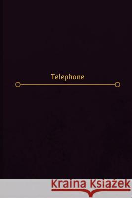 Telephone Log (Logbook, Journal - 120 Pages, 6 X 9 Inches): Telephone Logbook (Professional Cover, Medium) Centurion Logbooks 9781547048397