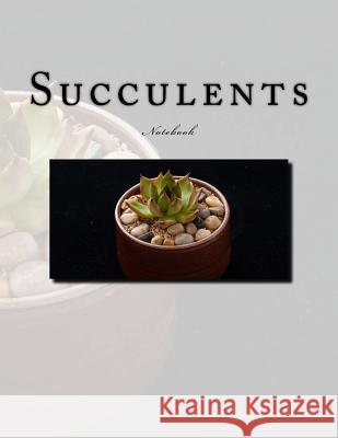 Succulents Notebook: Notebook with 150 Lined Pages Wild Pages Press 9781547292844