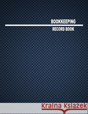 Bookkeeping Record Book: 2 Columns, 8.5x11, 80 Pages Little Bookshop 9781548588885