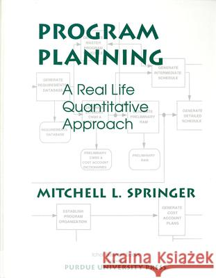 Program Planning: A Real Life Quantitative Approach Mitchell L. Springer 9781557531292