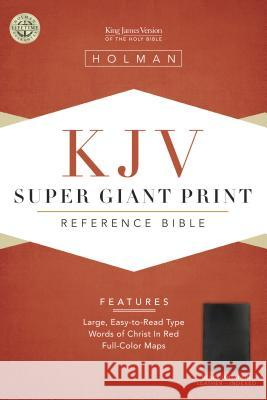 Super Giant Print Reference Bible-KJV Broadman & Holman Publishers 9781558196353