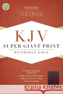 Super Giant Print Reference Bible-KJV Broadman & Holman Publishers 9781558196384