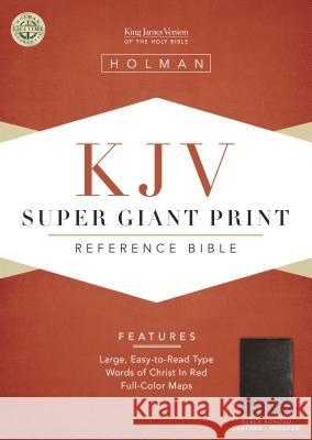 Super Giant Print Reference Bible-KJV Broadman & Holman Publishers 9781558196414