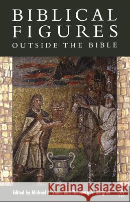 Biblical Figures Outside the Bible Theodore A. Bergren Michael E. Stone 9781563384110