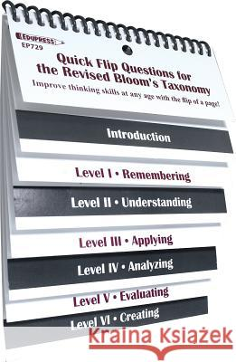 Quick Flip Questions for the Revised Bloom Taxonomy Linda G. Barton 9781564727299