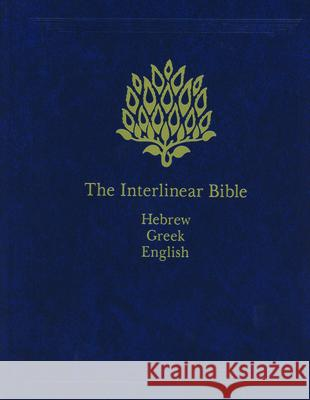 Interlinear Bible-PR-Hebrew/Greek/English Jay P. Green Jay P. Green 9781565639775