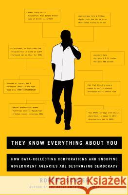 They Know Everything about You: How Data-Collecting Corporations and Snooping Government Agencies Are Destroying Democracy Robert Scheer 9781568585185