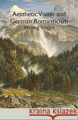 Aesthetic Vision and German Romanticism: Writing Images Brad Prager 9781571134707