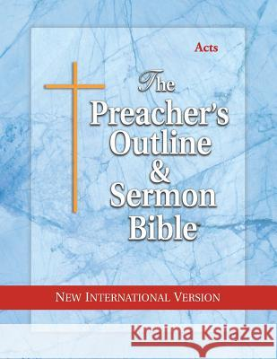 Preacher's Outline & Sermon Bible-NIV-Acts Leadership Ministries Worldwide 9781574070811