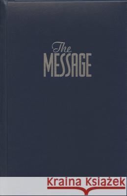 Message Bible-MS-Numbered Eugene H. Peterson 9781576836736