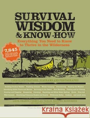 Survival Wisdom & Know How: Everything You Need to Know to Thrive in the Wilderness Amy Rost 9781579127534