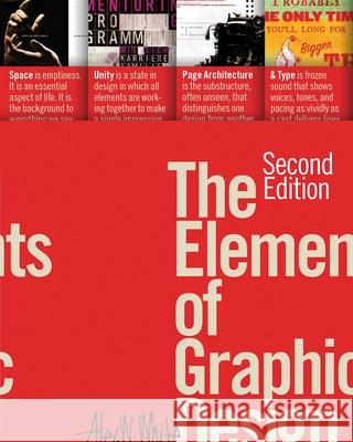 The Elements of Graphic Design  9781581157628