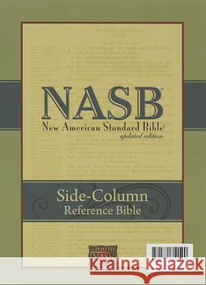 Side-Column Reference Bible-NASB Inc Foundatio The Lockman Foundation 9781581351590