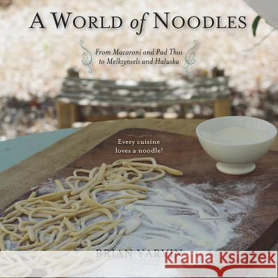 A World of Noodles Brian Yarvin 9781581572100