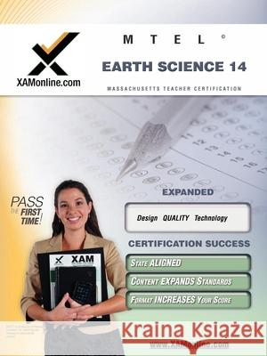 Mtel Earth Science 14 Teacher Certification Test Prep Study Guide Sharon Wynne 9781581976830